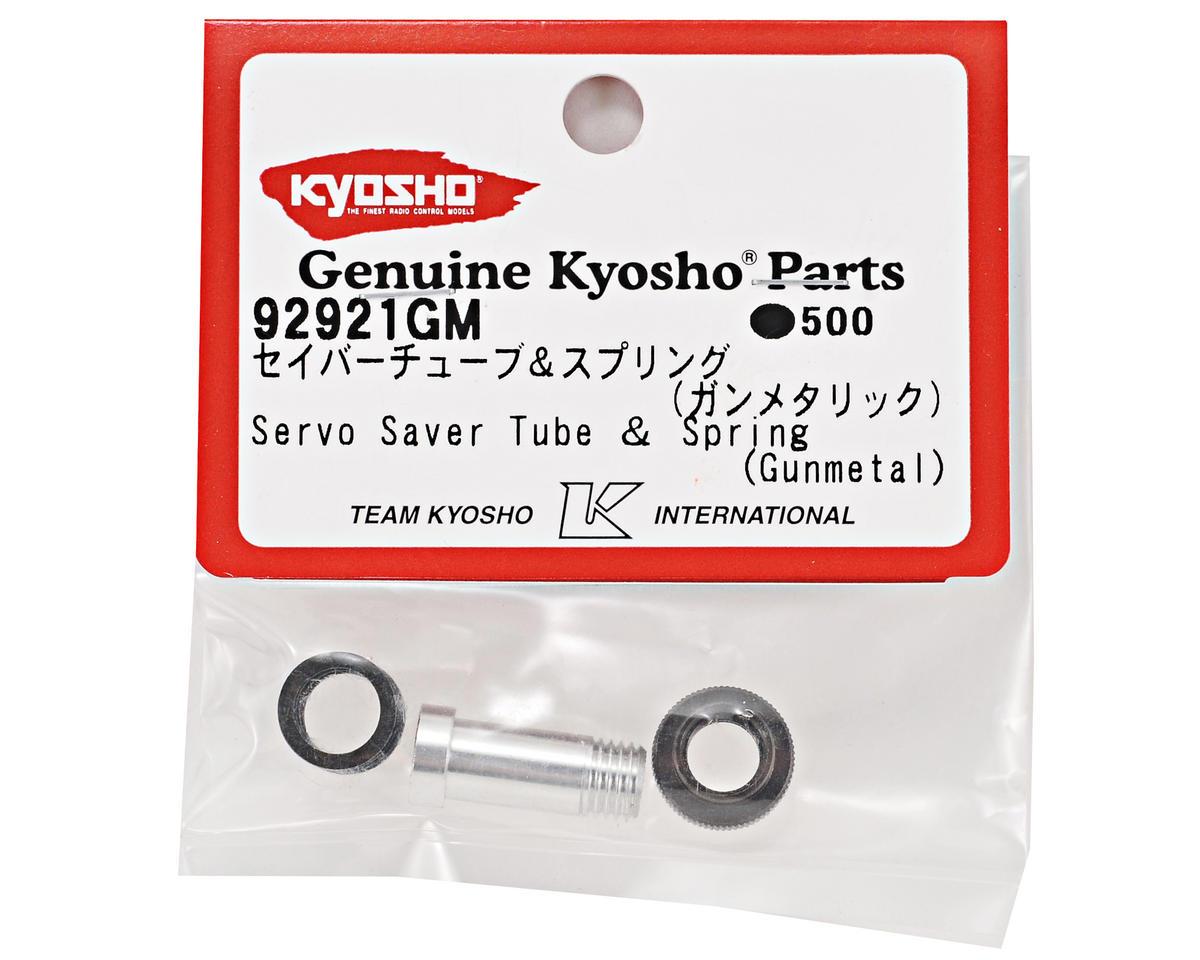 Kyosho Servo Saver Tube & Spring Set (Gunmetal)