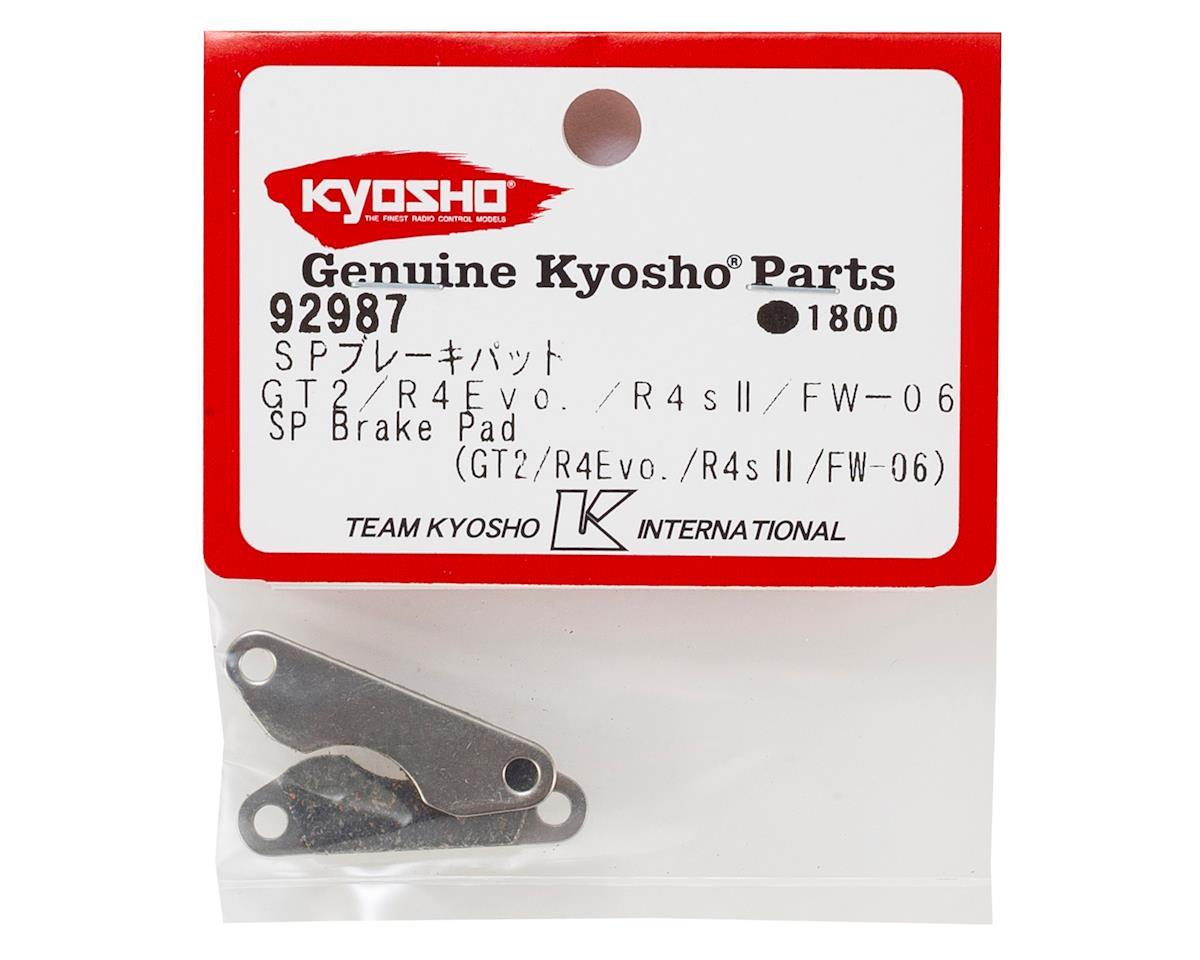 Kyosho SP Brake Pad Set (2) (GT2/R4Evo/FW06)