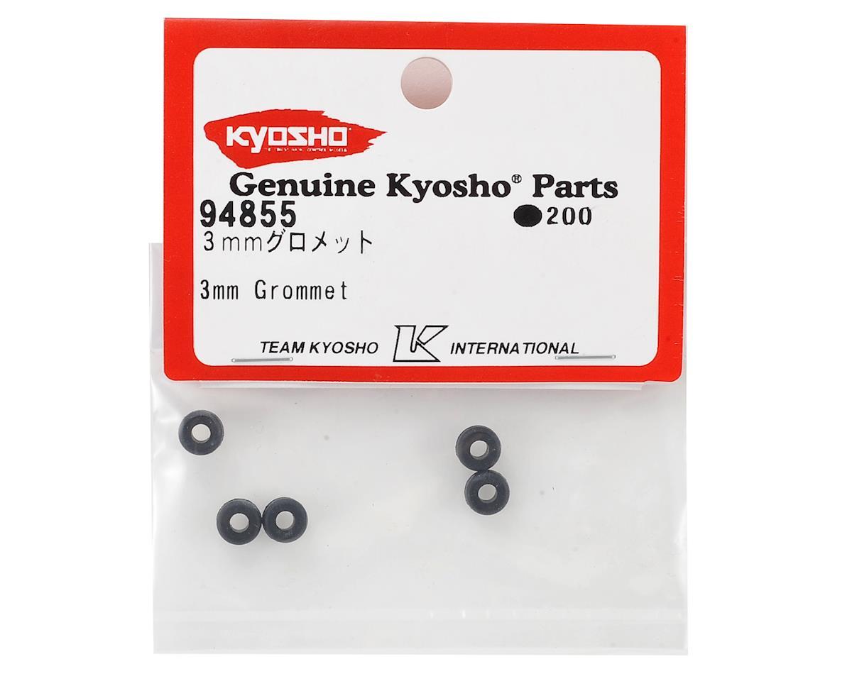 Kyosho 3mm Rubber Grommet (5)