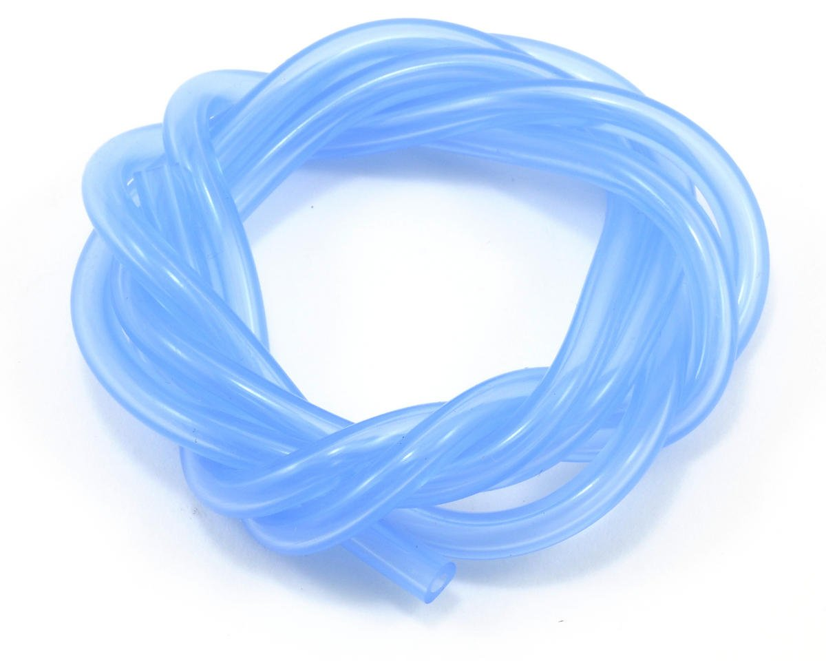 Kyosho V-One RRR 2.3mm Silicone Fuel Tubing (Blue) (100cm)