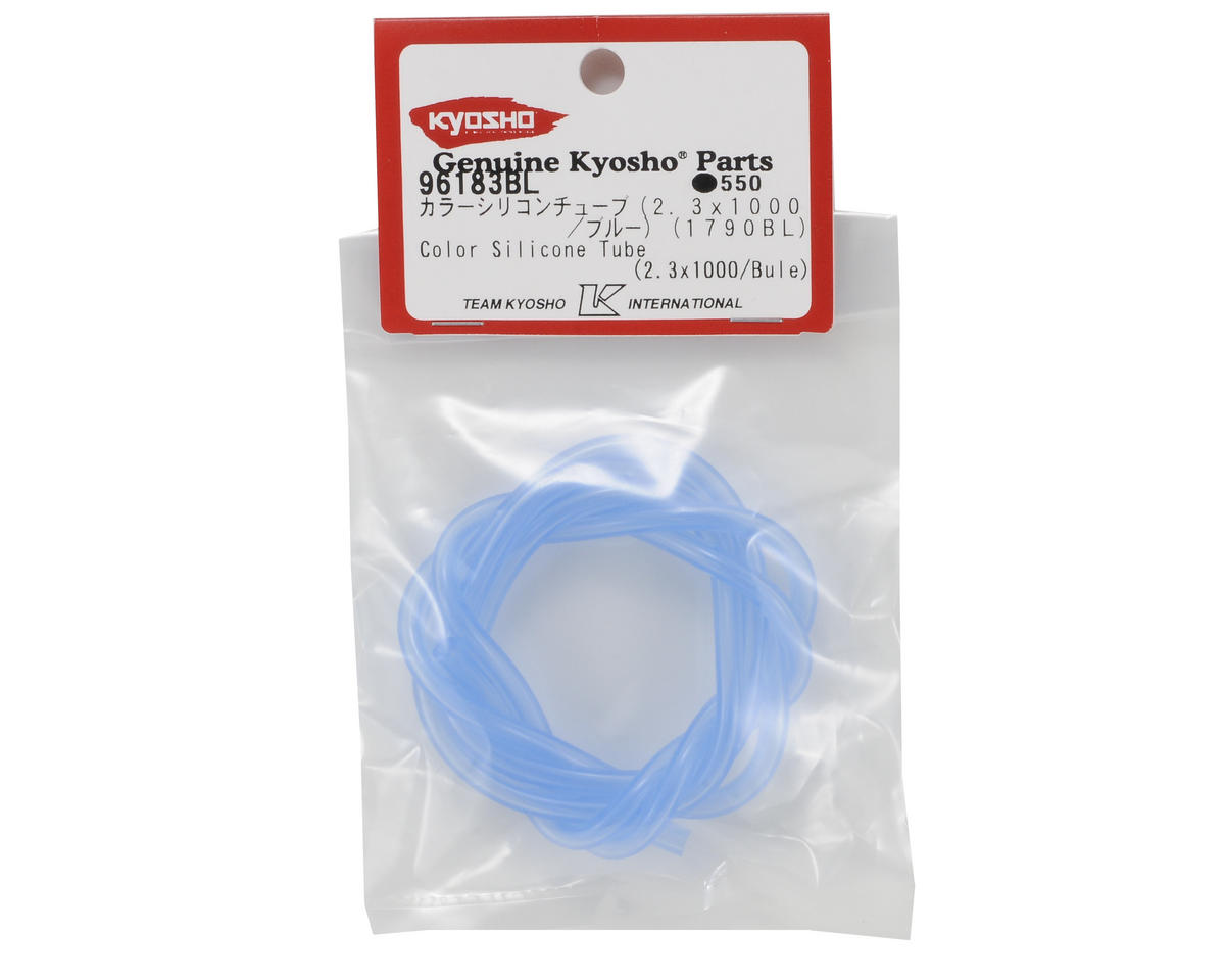 Kyosho 2.3mm Silicone Fuel Tubing (Blue) (100cm)