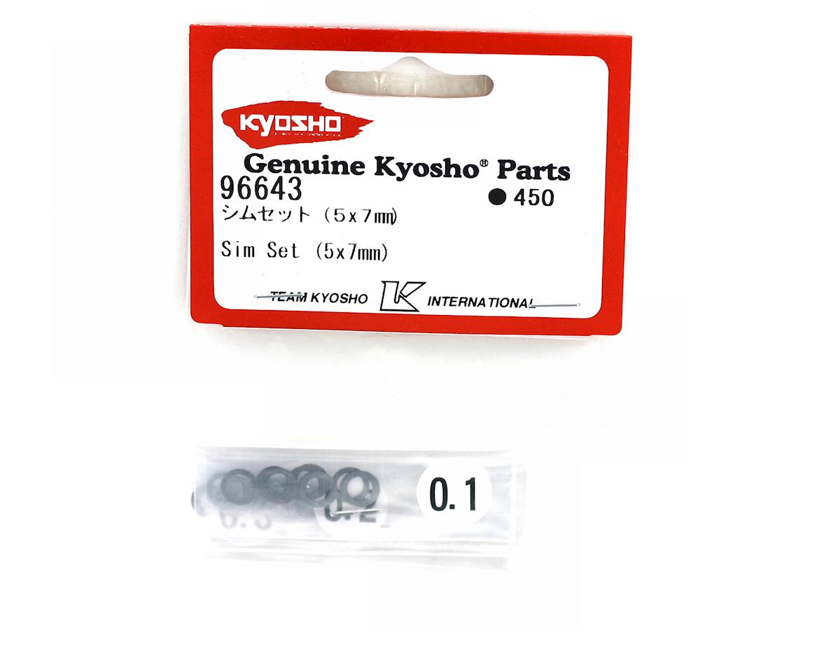 Kyosho 5x7mm Shim Set