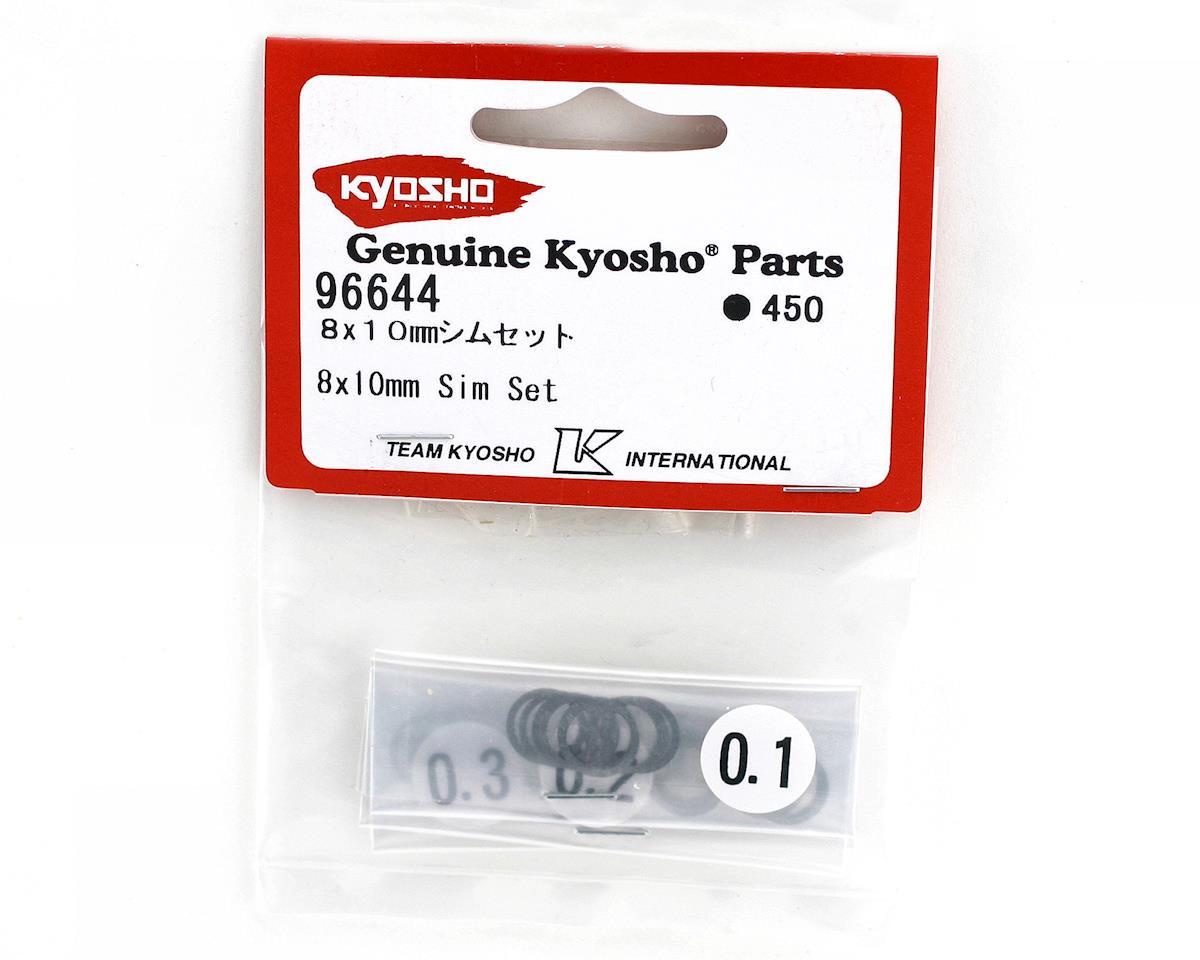 Kyosho 8x10mm Shim Set (10)
