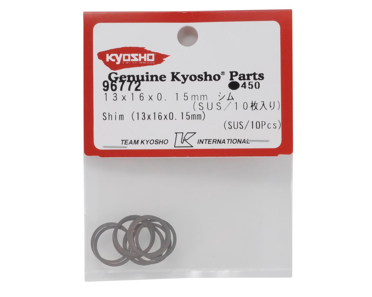 13x16x0.15mm Differential Shim Set by Kyosho