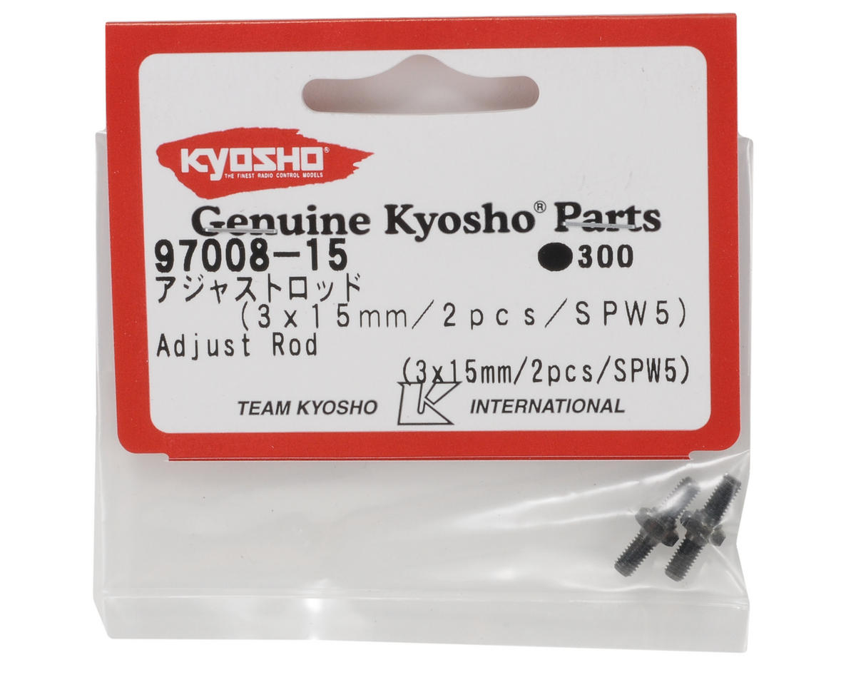 Kyosho 3x15mm Turnbuckle (2)