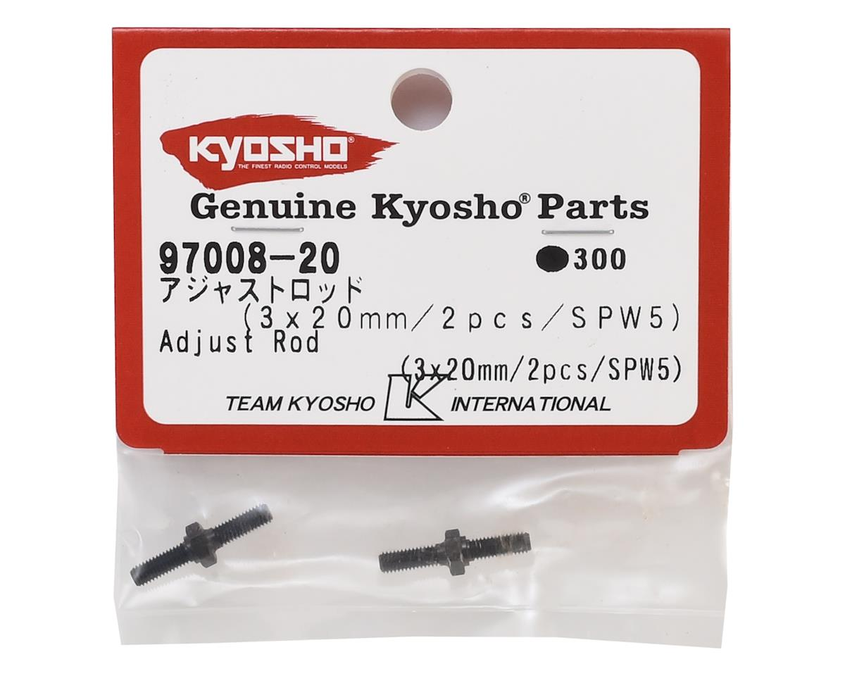 Kyosho 3x20mm Turnbuckles (2)