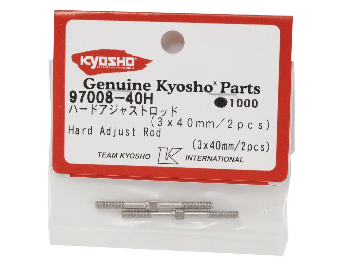 Kyosho 3x40mm Hard Turnbuckle (2)