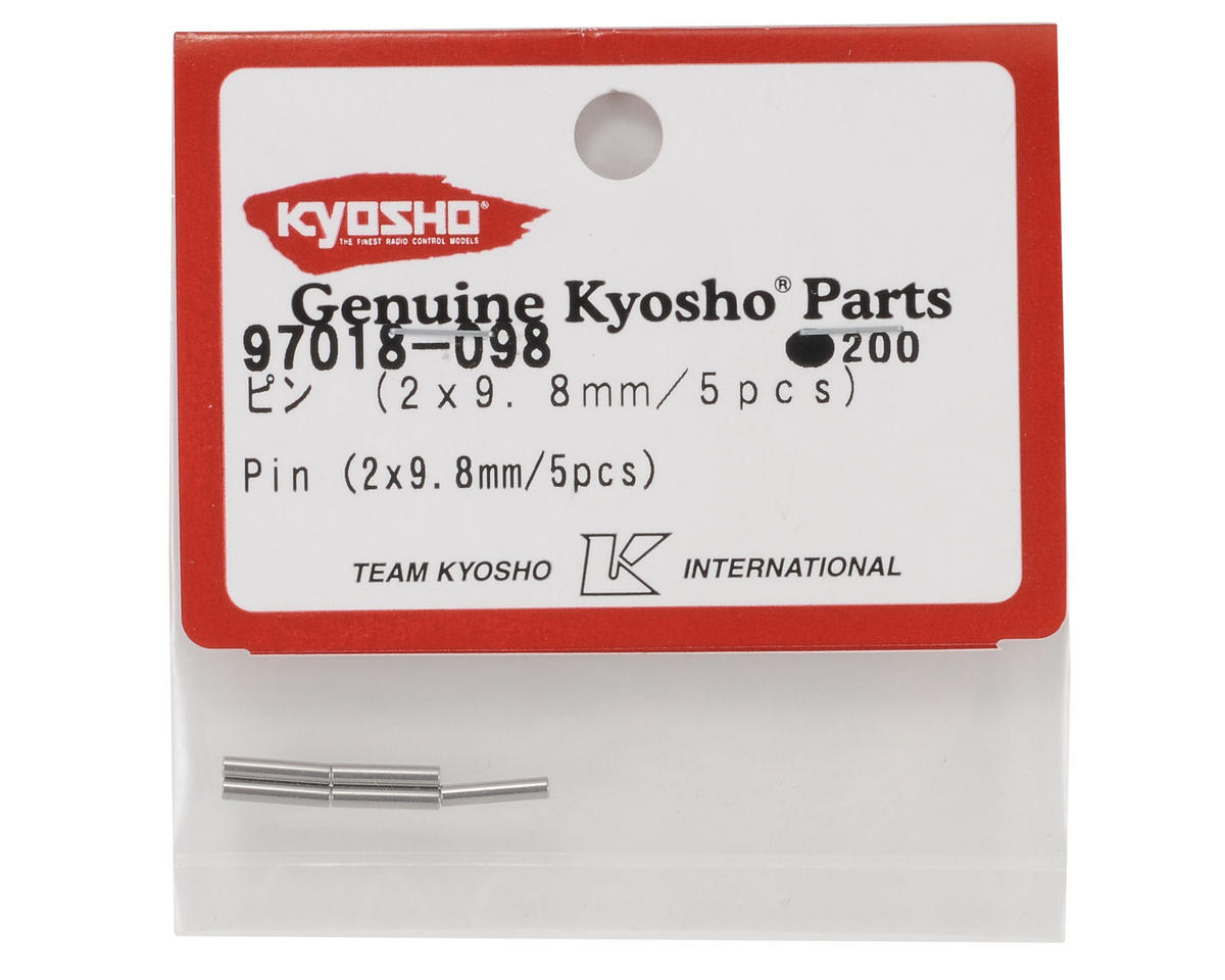 2x9.8mm Pin (5) by Kyosho