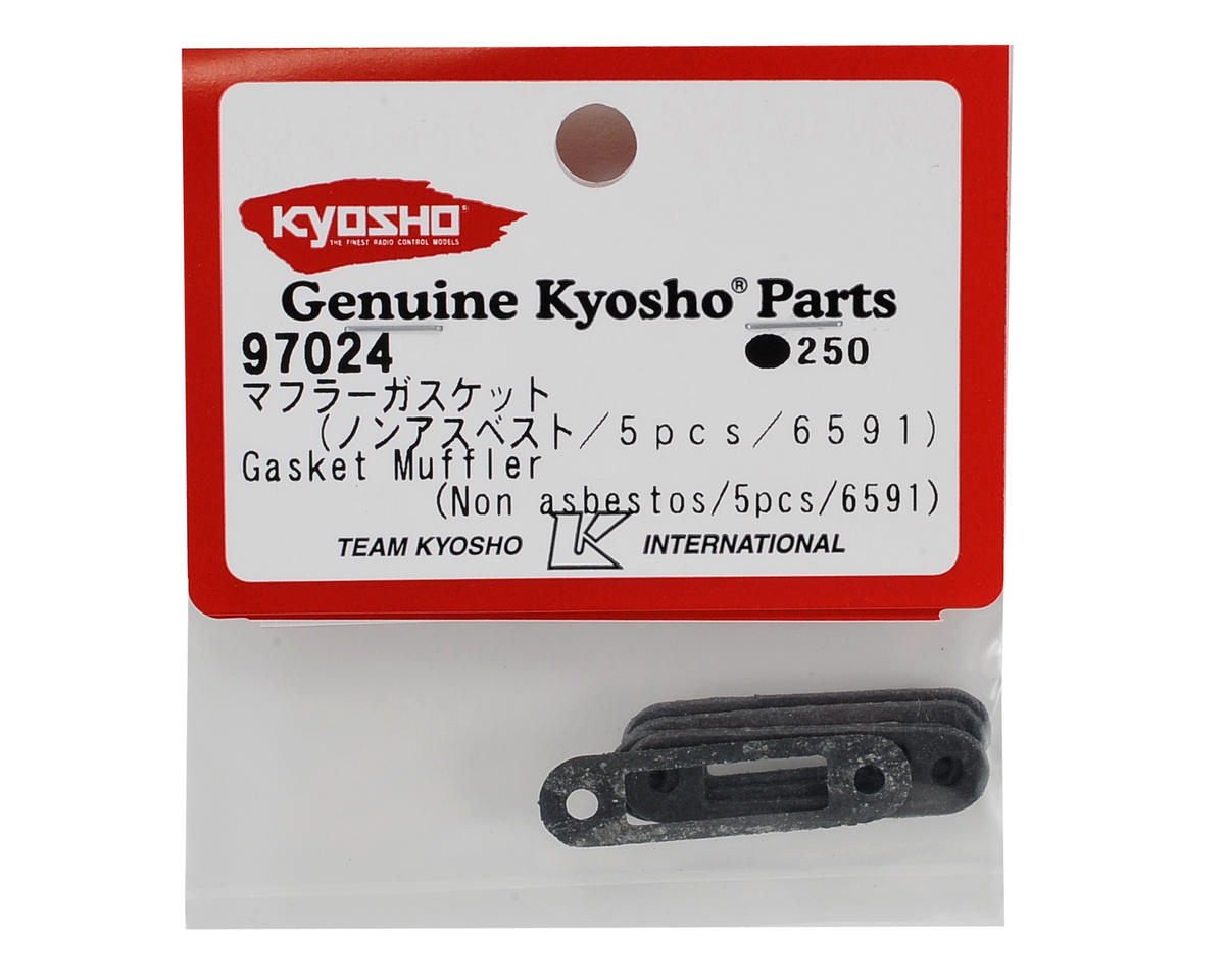 Exhaust Gasket (5) by Kyosho