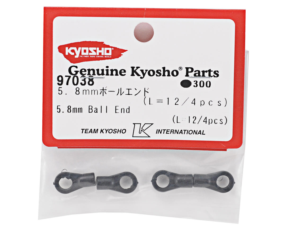 Kyosho Medium Big Bore Shock End Set (4)