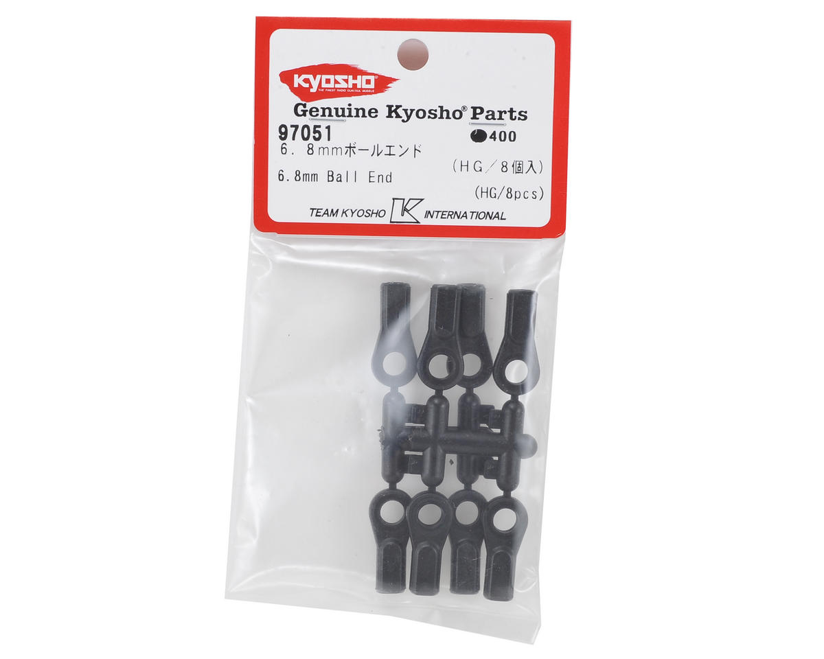 MP9 TKI4 High Grade 6.8mm Steering Ball End (8) by Kyosho