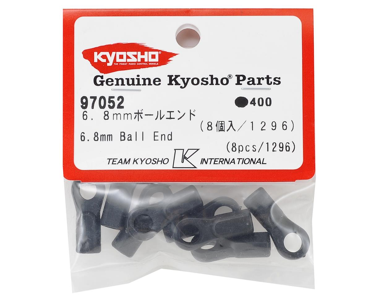 6.8mm Plastic Ball End (8) by Kyosho
