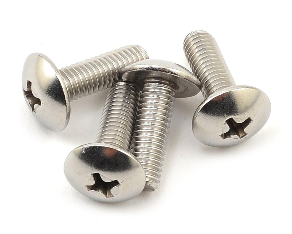 Kyosho 5x15mm Button Head Phillips Top Hatch Screw (4)