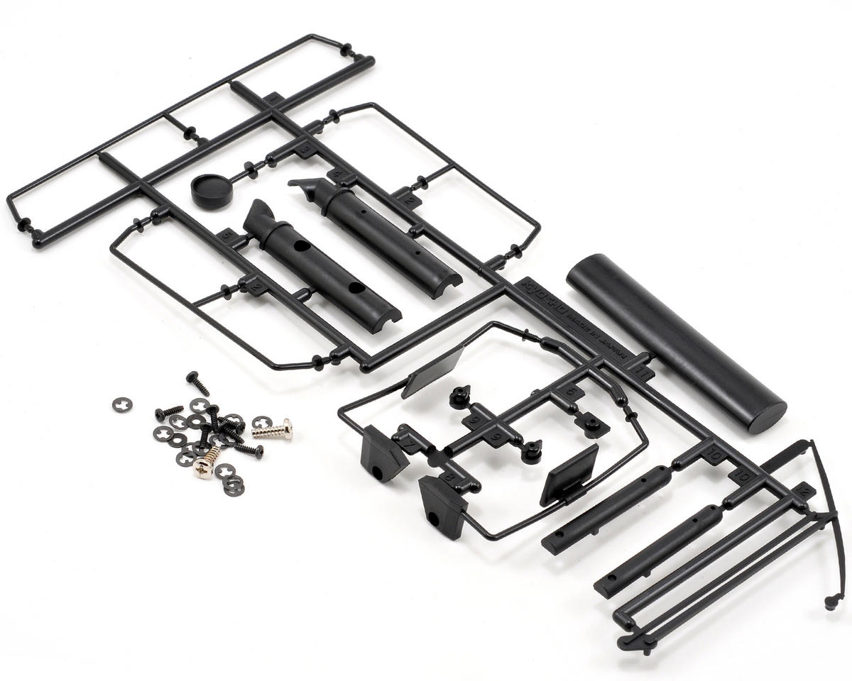 Kyosho Blizzard Plastic Parts Set