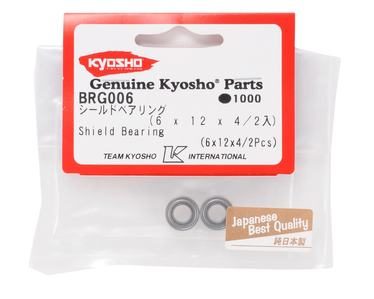 Kyosho 6x12x4mm Shield Bearing (2)