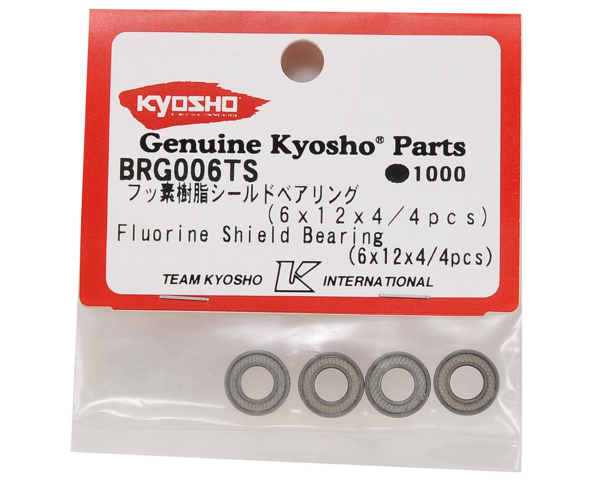 Kyosho 6x12x4mm Fluorine Shield Bearing (4)