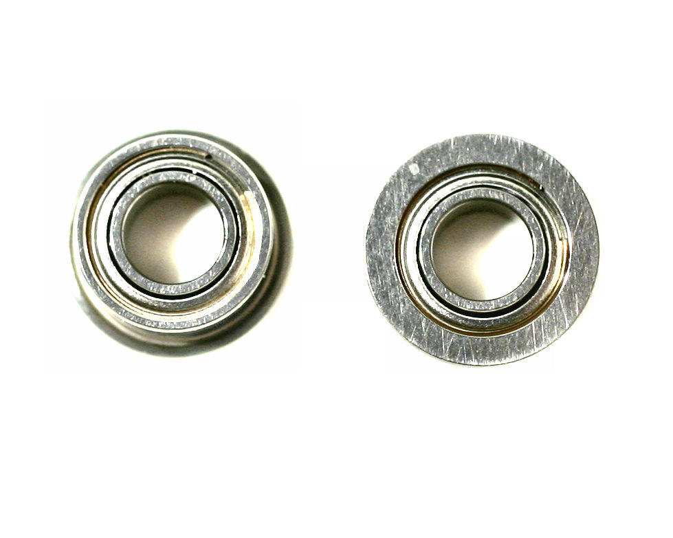 3x6x2.5mm Flanged Metal Shielded Ball Bearings (2) (ZX-5) by Kyosho