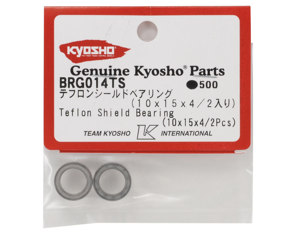 Kyosho 10x15x4mm Teflon Shield Bearing (2)