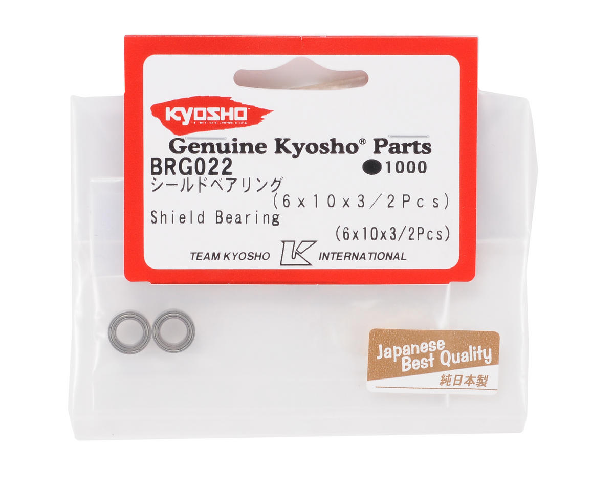 Image 2 for Kyosho 6x10x3mm Shield Bearing (2)