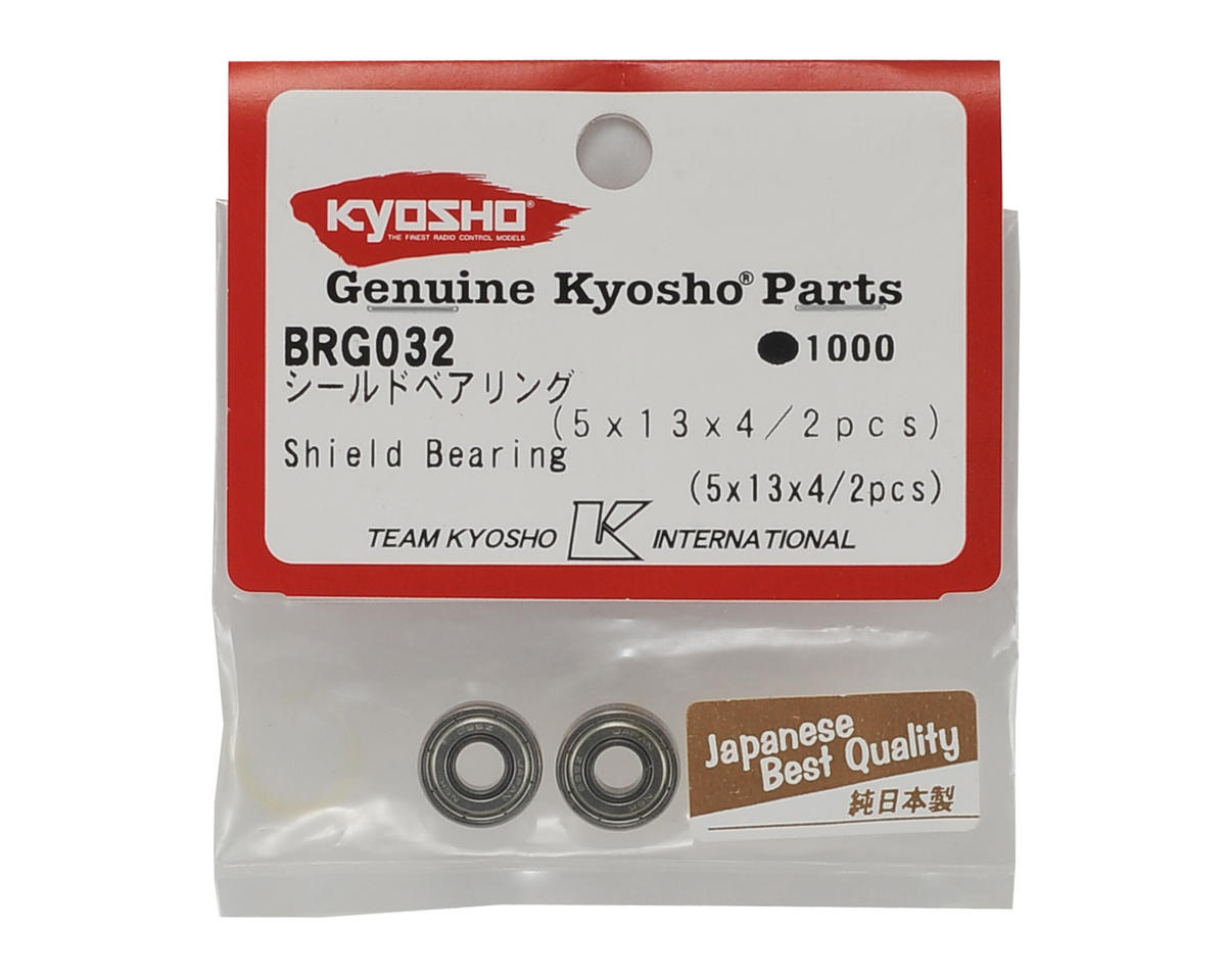 Image 2 for Kyosho 5x13x4mm Metal Shield Bearing (2)