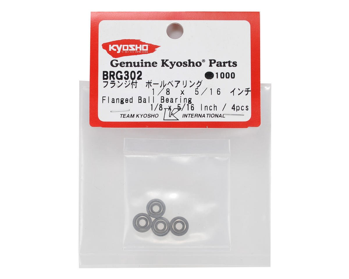 "Kyosho 1/8x5/16"" Flanged Bearing (2)"