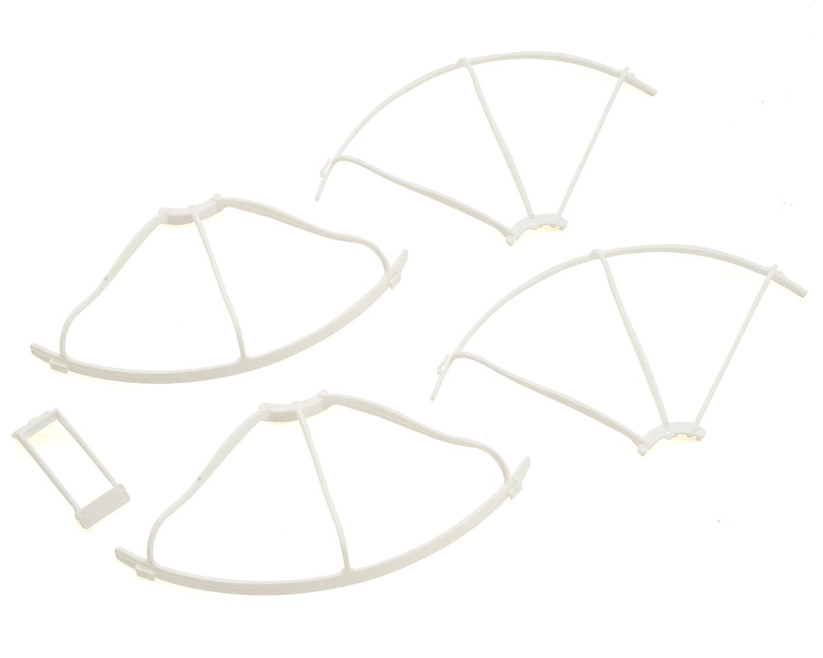 Kyosho G-Zero Zephyr/G-Zero Propeller Guard & Wing Stay Set (White)