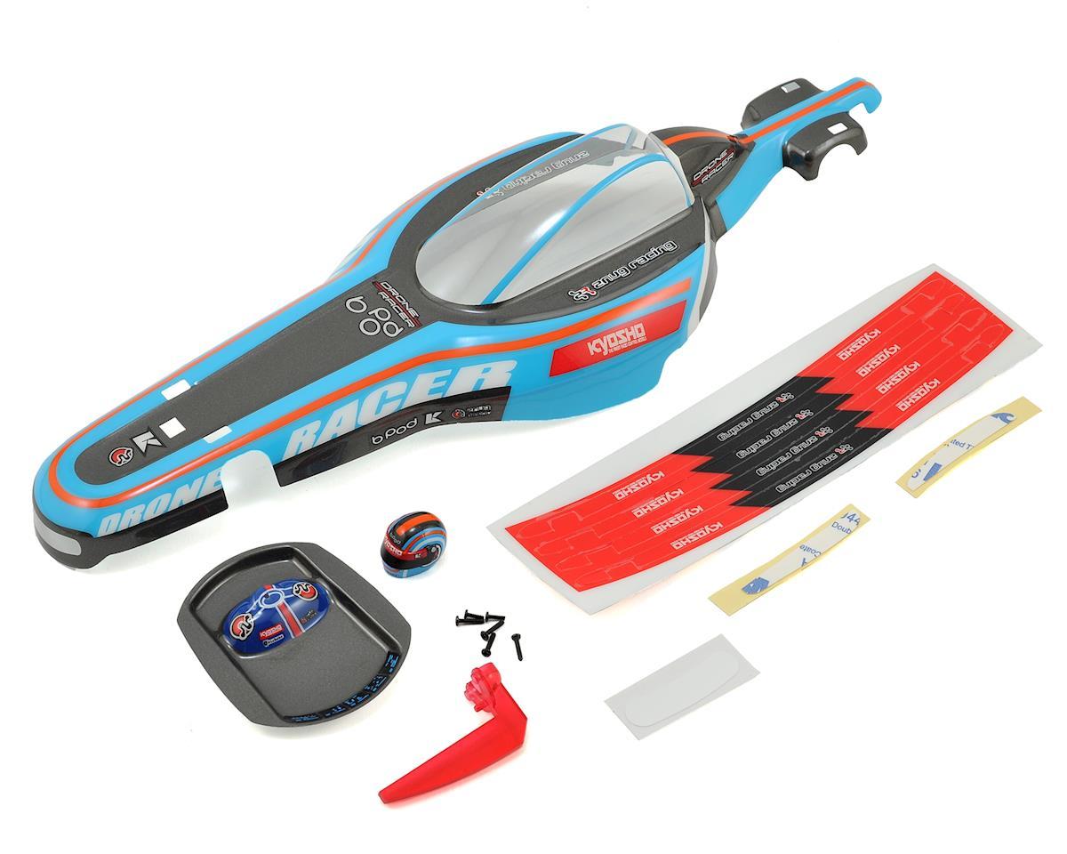 Kyosho B-Pod Drone Racer Lexan Body Set (Blue)