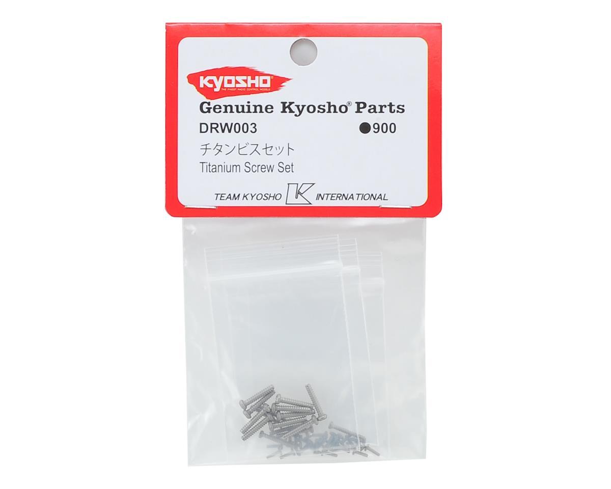 Zephyr/G-Zero Titanium Screw Set by Kyosho