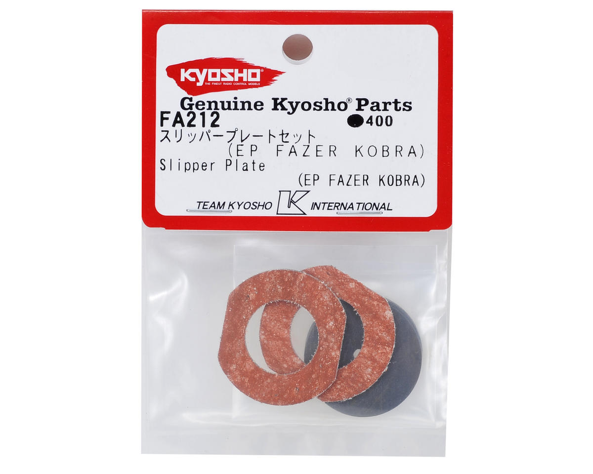 Slipper Plate Set by Kyosho