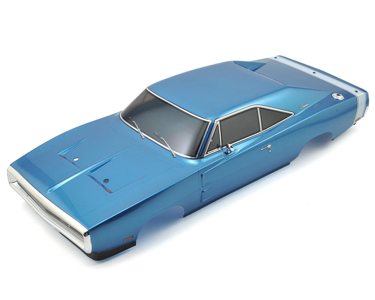 Kyosho 200mm Complete Dodge 1970 Charger Body Set (Blue)