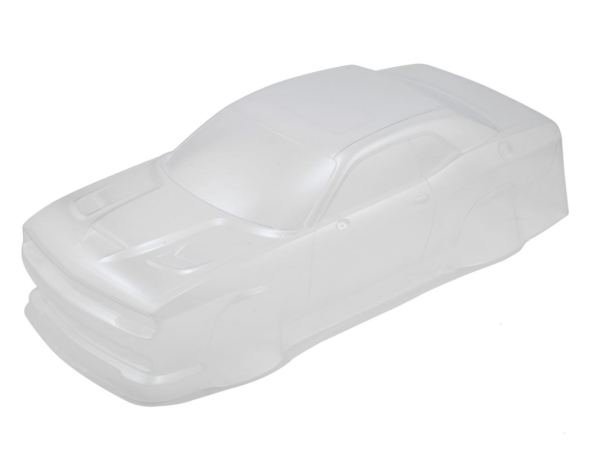 Dodge Challenger Hellcat Body (Clear) by Kyosho