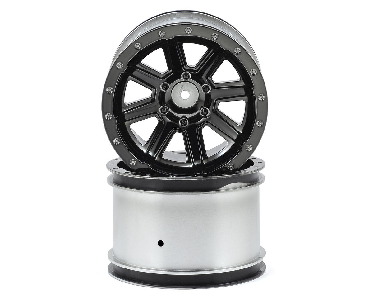 Kyosho Wheel (Black Chrome) (2)