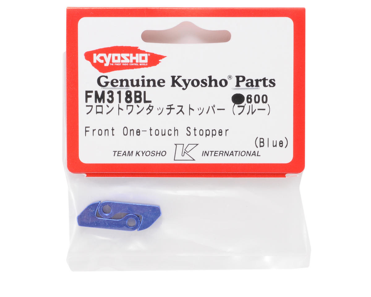 Kyosho Front One-Touch Stopper (Blue) (2)