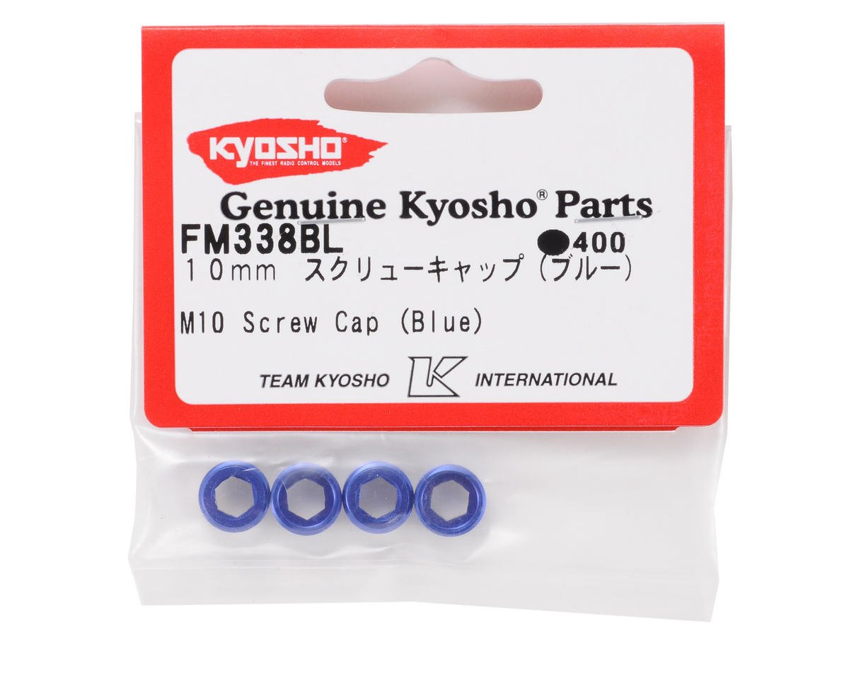 Kyosho M10 Screw Cap (Blue) (4)