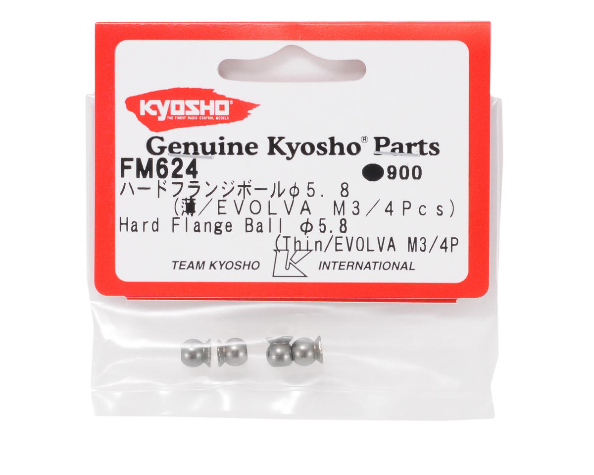 Kyosho 5.8mm Flange Ball (Thin)