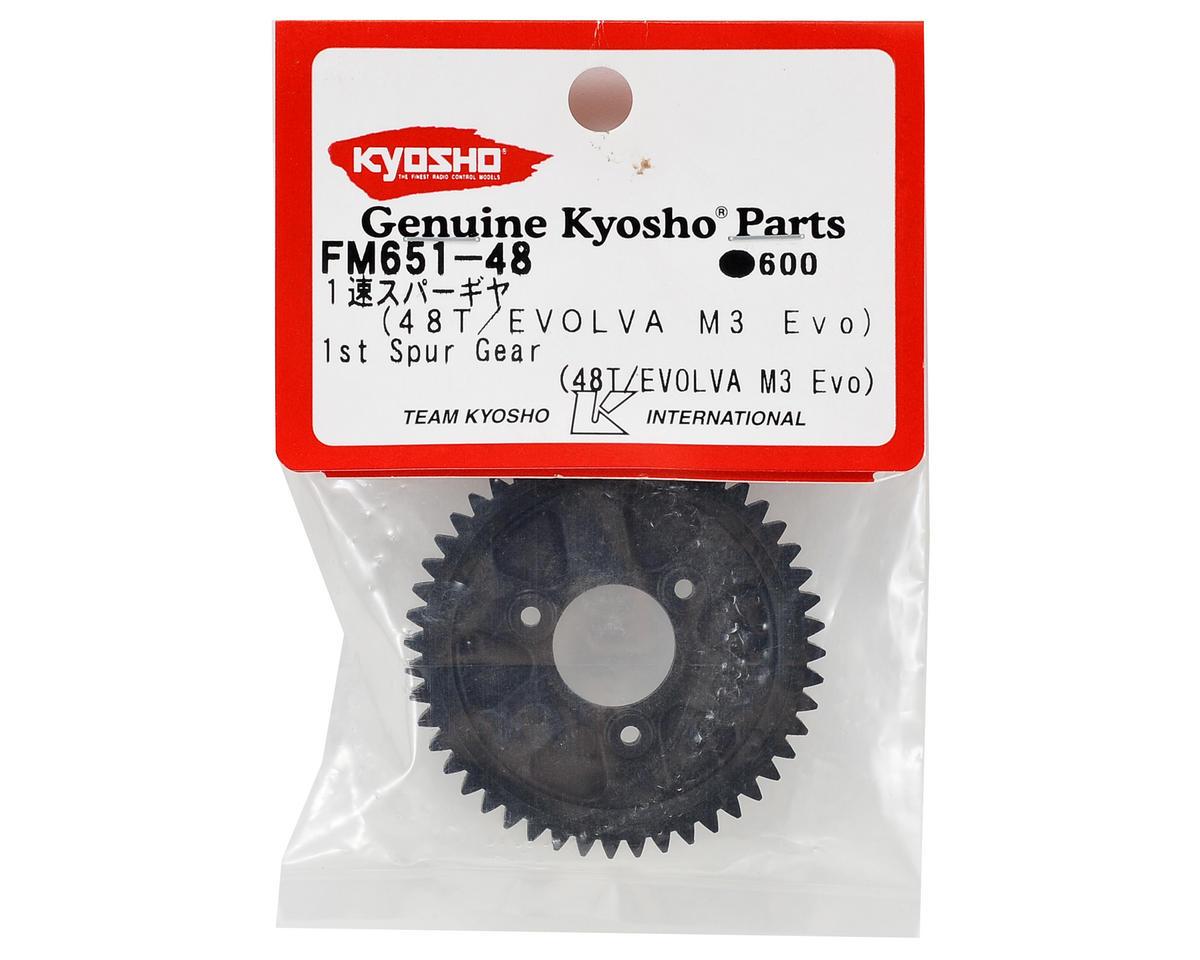 Kyosho 1st Spur Gear (Evolva M3 Evo) (48T)