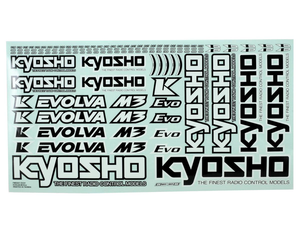 Kyosho Evolva M3 EVO Decal Set