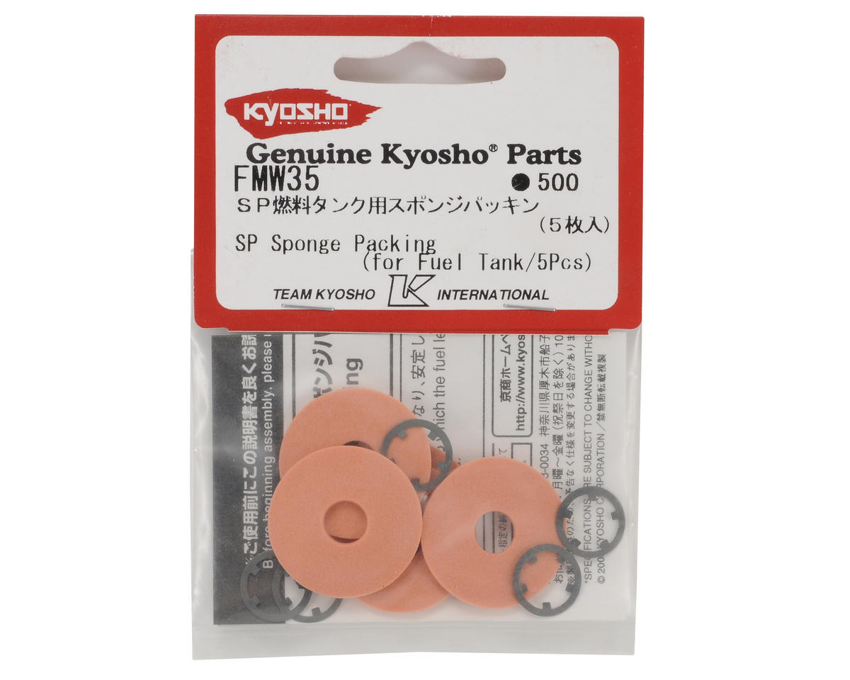 Kyosho SP Fuel Tank Sponge Packing Set (5)