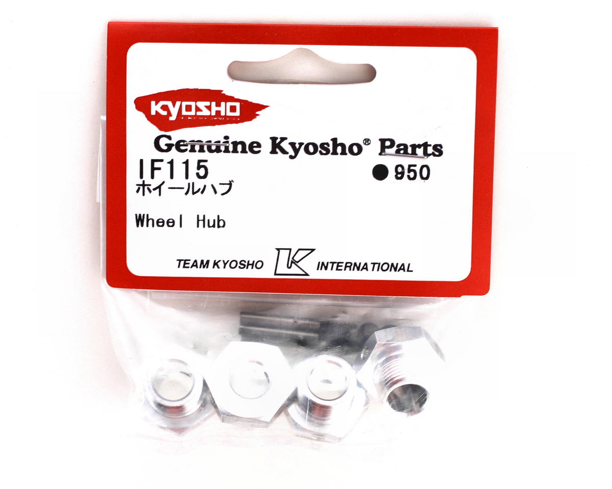 17mm Wheel Hubs (Silver) by Kyosho