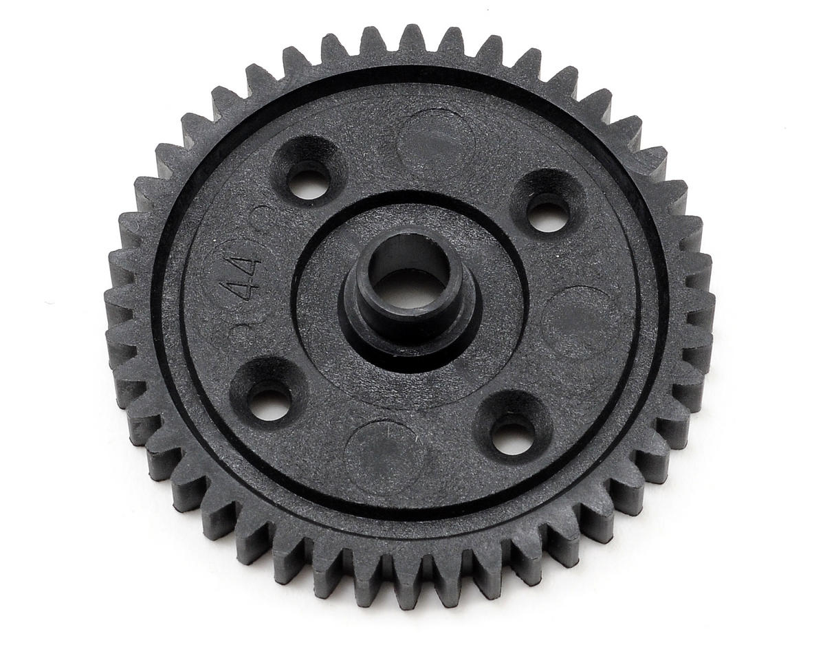Plastic Mod1 Center Differential Spur Gear (44T) by Kyosho