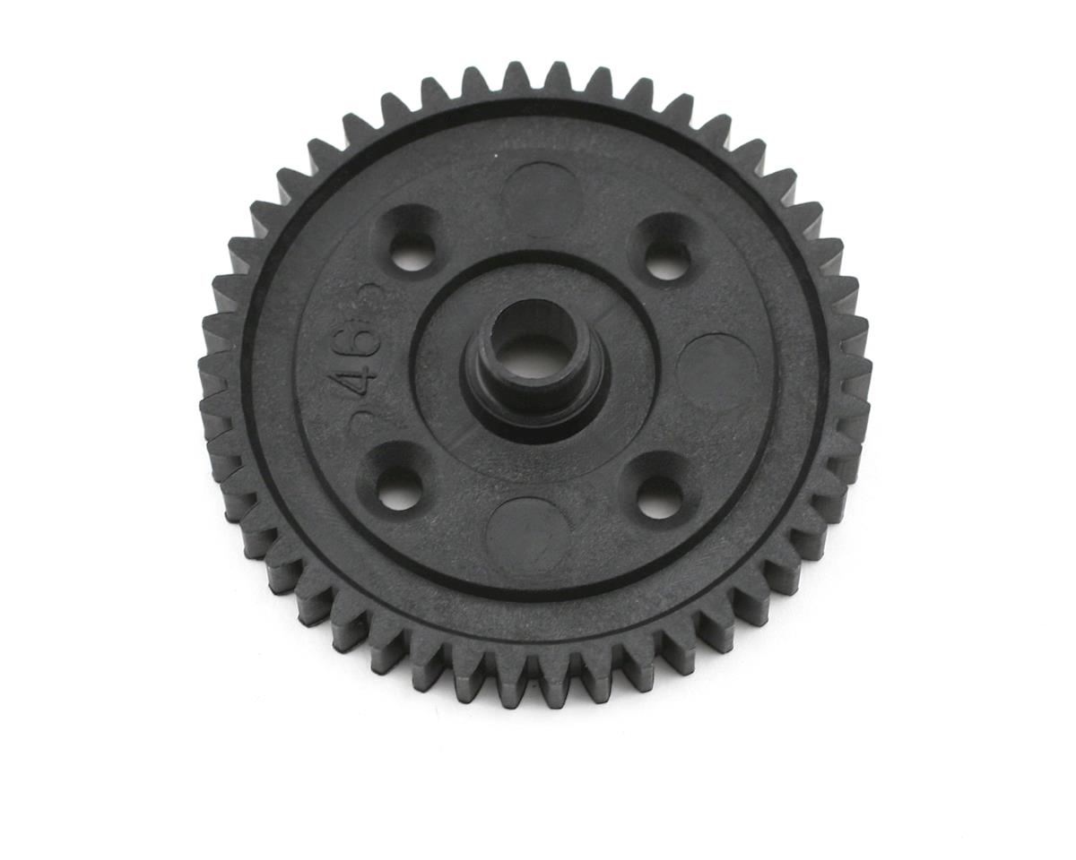 Plastic Mod1 Center Differential Spur Gear (46T) by Kyosho