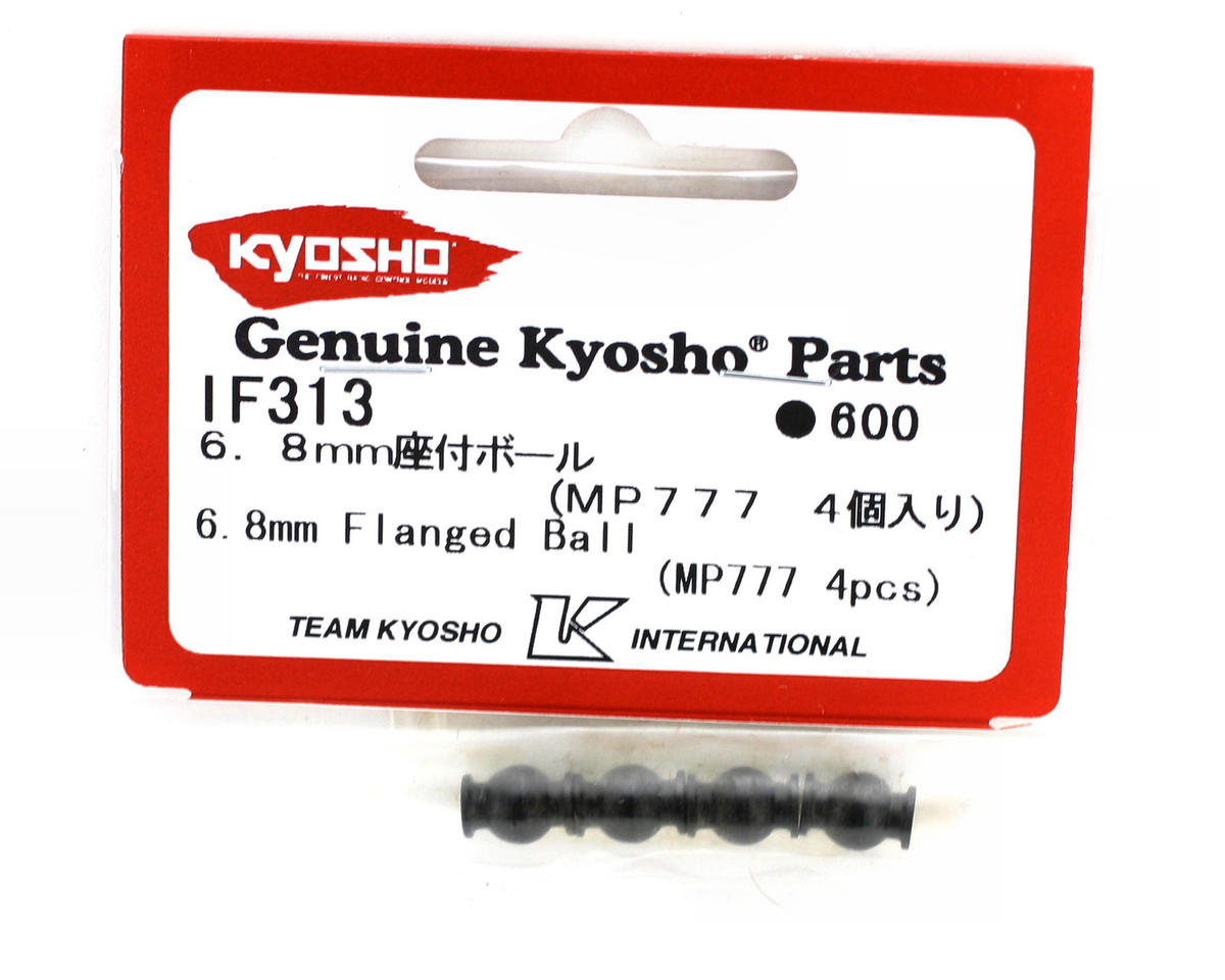 Image 2 for Kyosho 6.8mm Flanged Ball (MP777) (4)