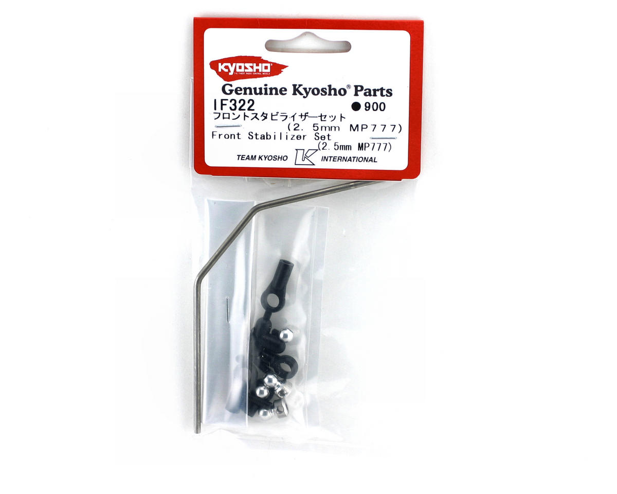 2.5mm Front Sway Bar (MP777) by Kyosho