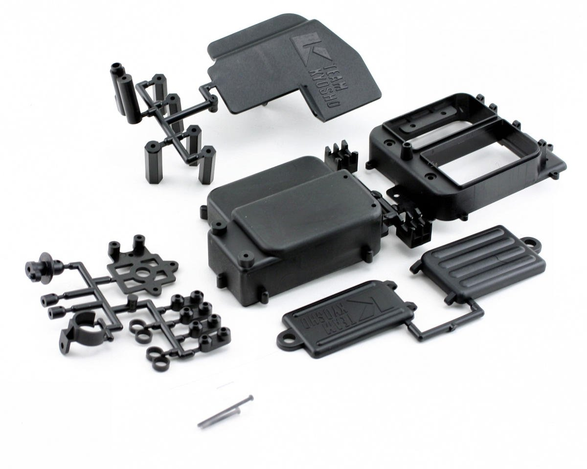 Receiver Box Set (MP777/ST-R) by Kyosho