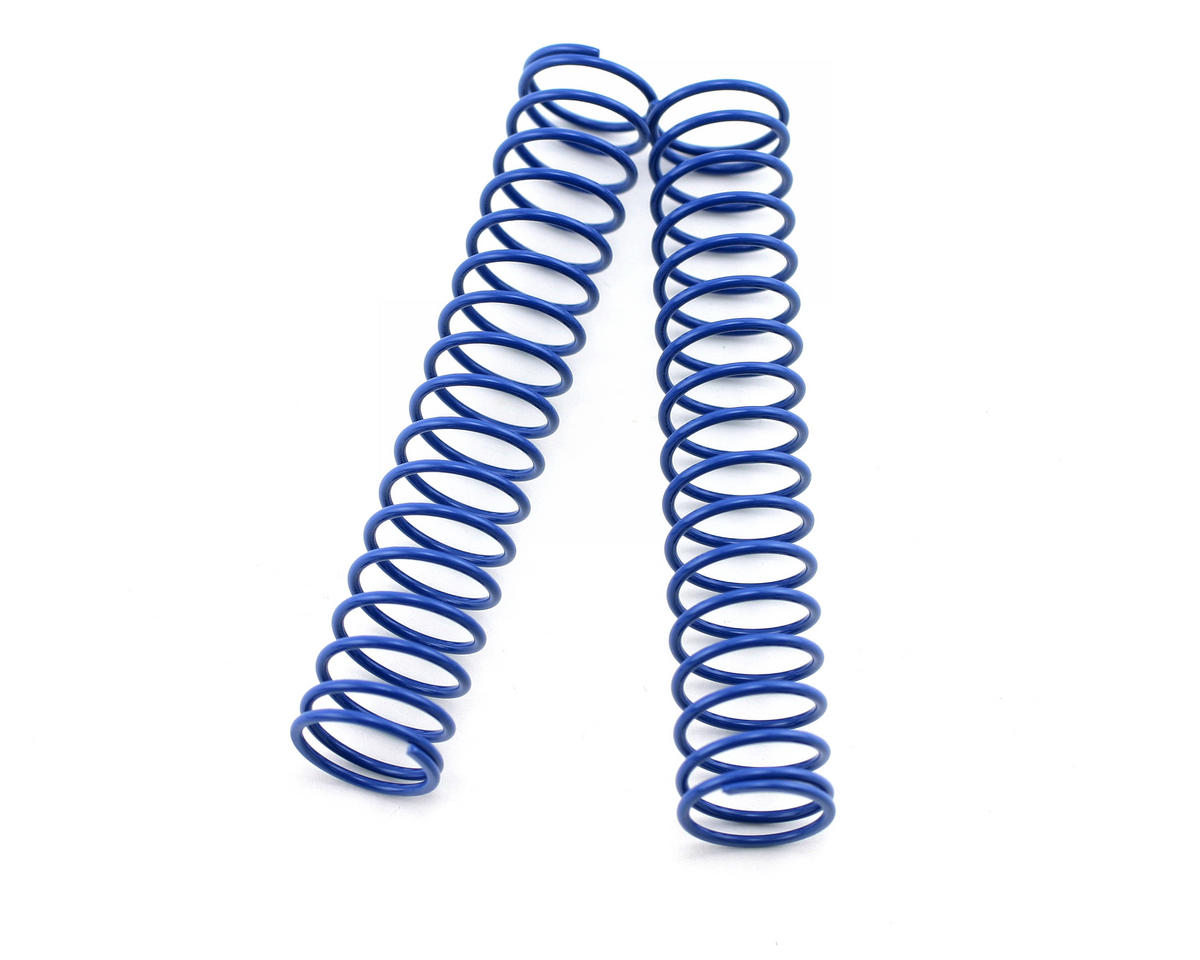 Rear Long Shock Springs (Blue/Medium) (2) (MP777 SP2) by Kyosho