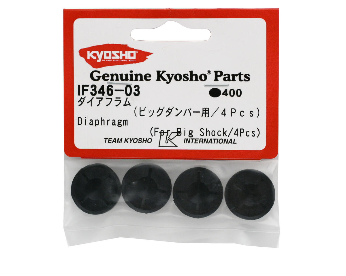 Kyosho Big Bore Shock Diaphragm (4)