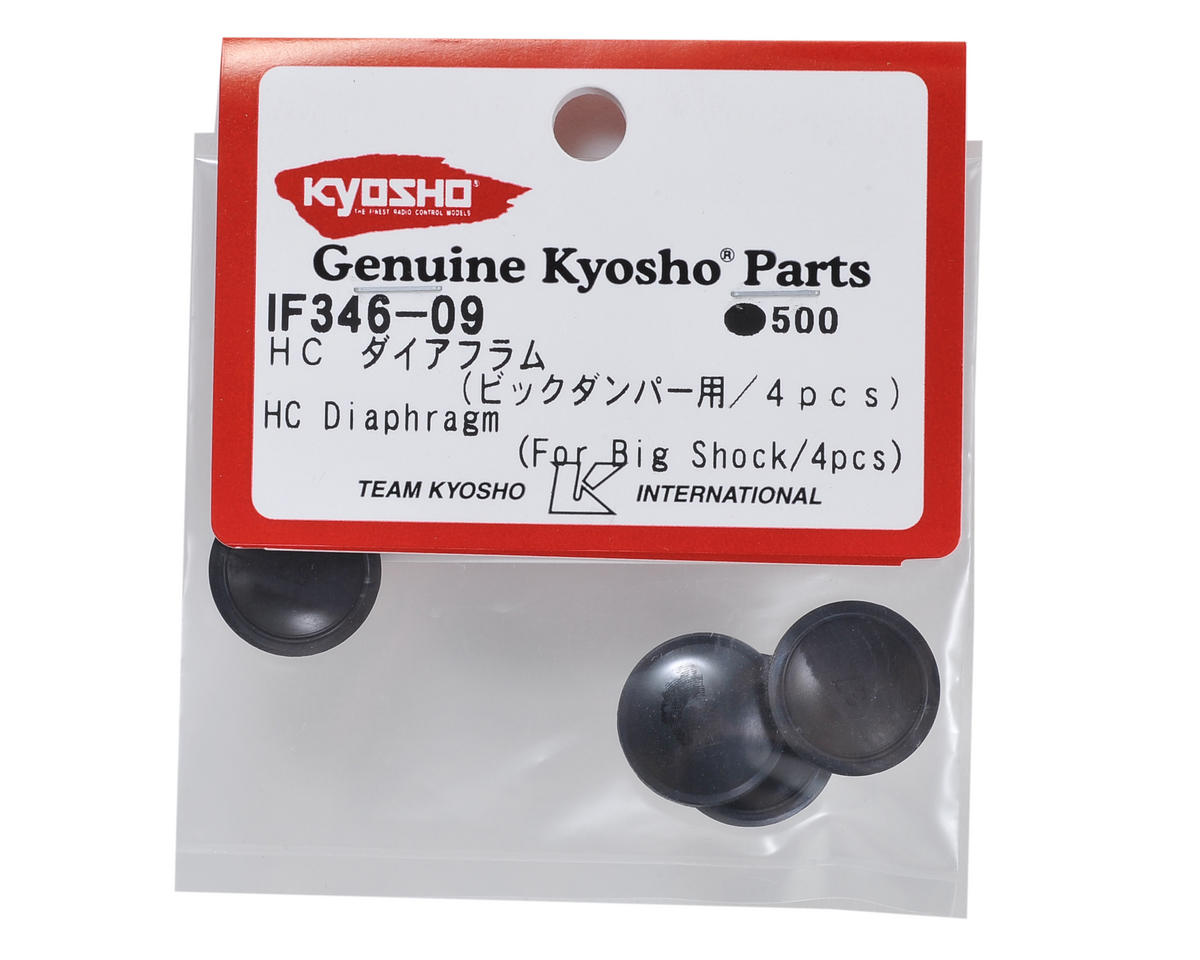 HC Big Bore Diaphragm (4) by Kyosho