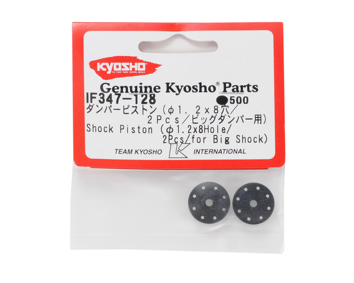 Kyosho Big Bore Shock Piston (1.2 x 8 hole) (2)