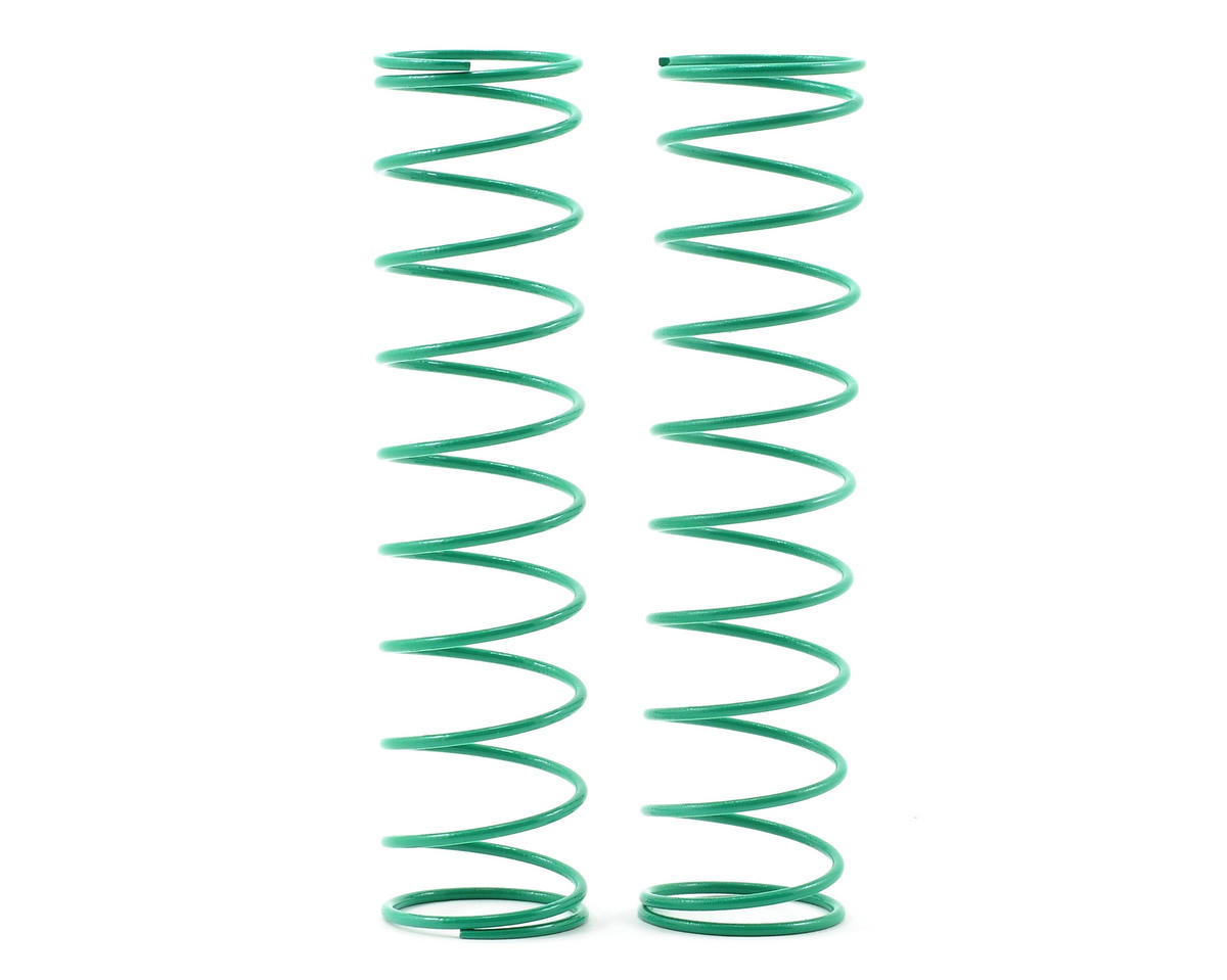 Kyosho 95mm Big Bore Rear Shock Spring (Green) (2)