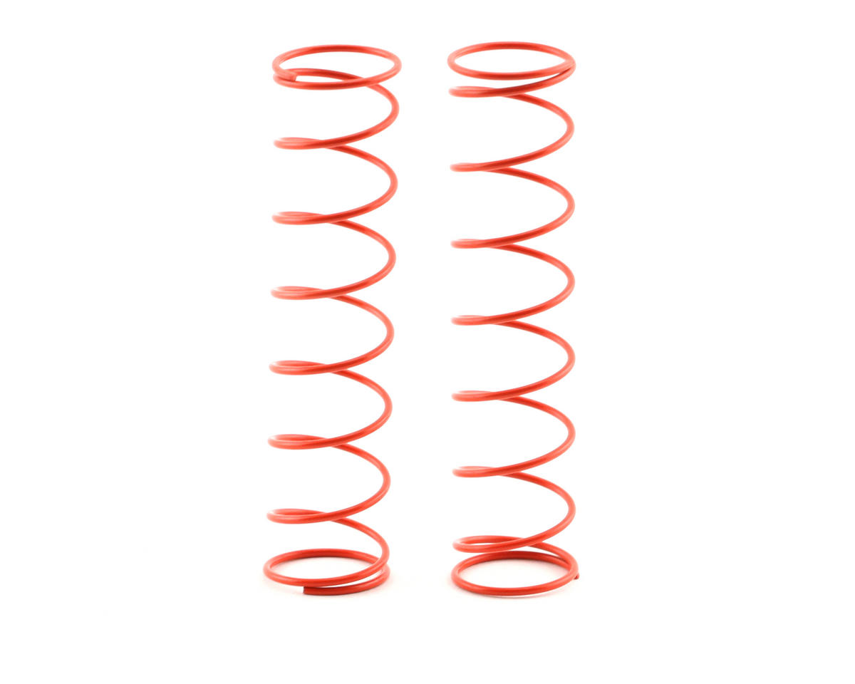 95mm Big Bore Rear Shock Spring (Red) (2) by Kyosho